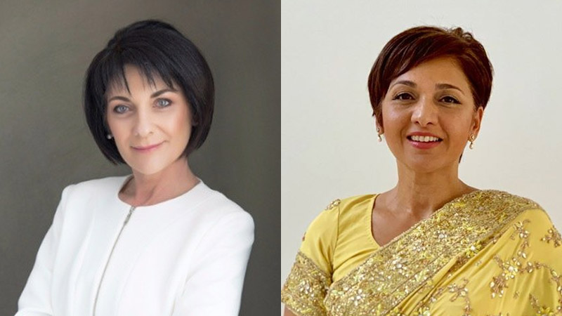 Annette Sheppard and Yasmin Omar-Meer