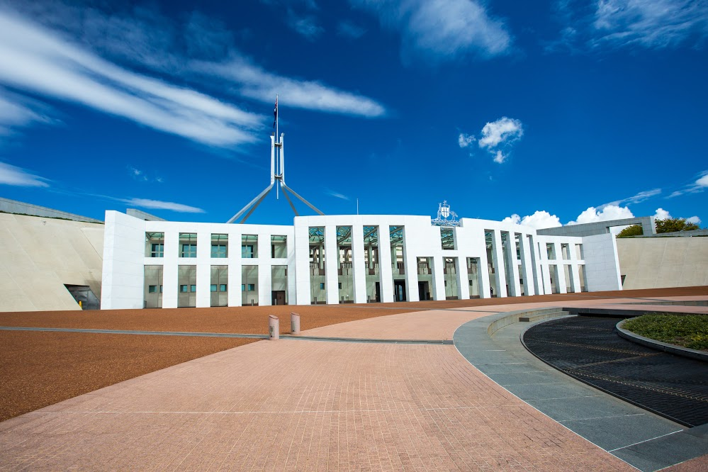 parliament house sideview