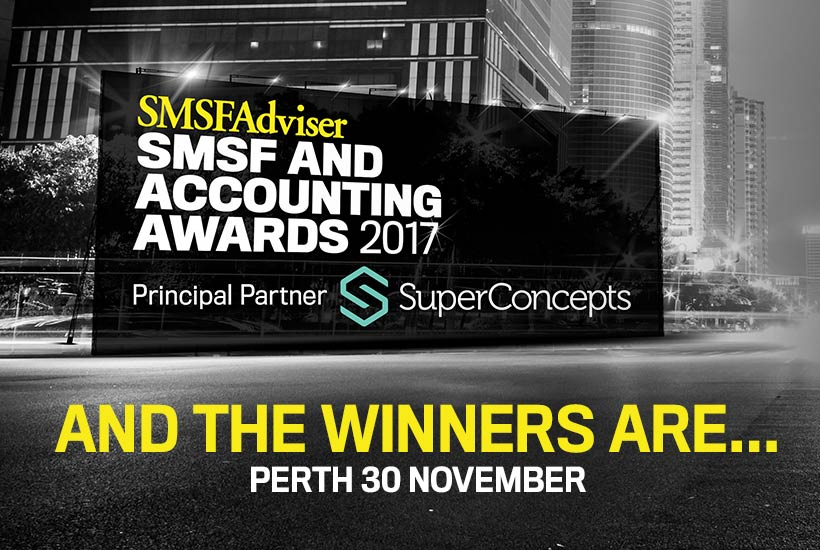smsf acc awards perth