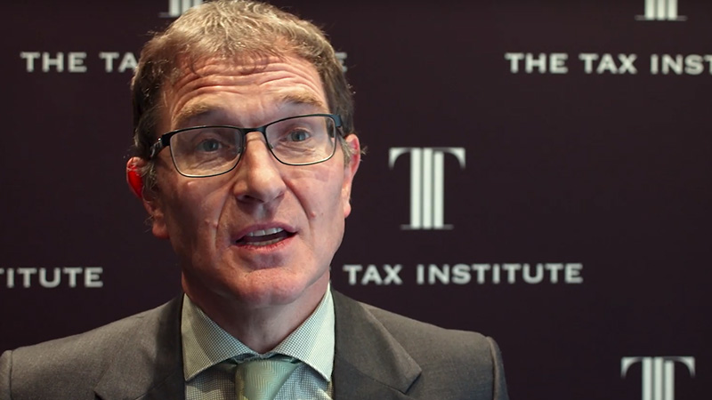 Tim Neilson, Tax Institute