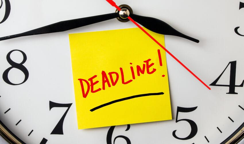 deadline clock smsf 2