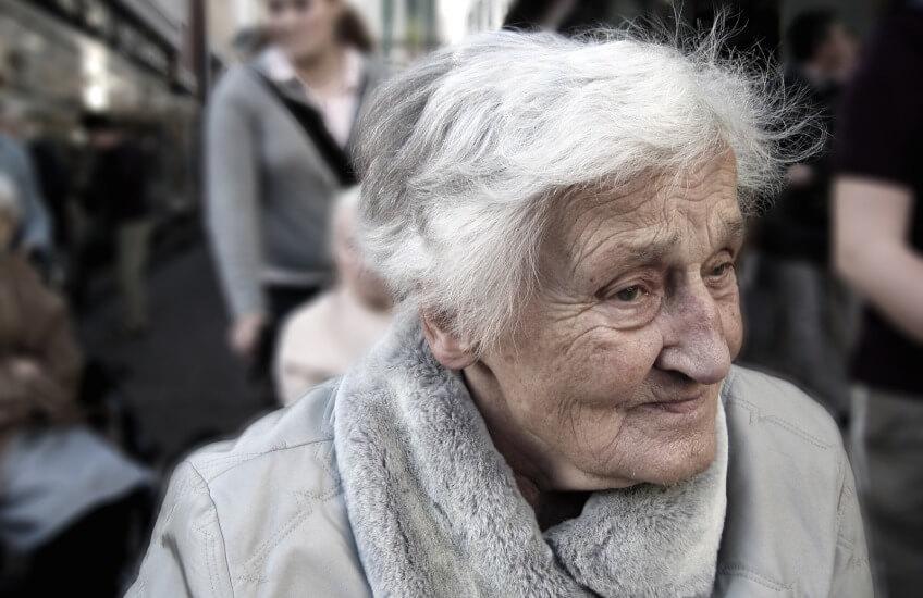 elder woman smsf