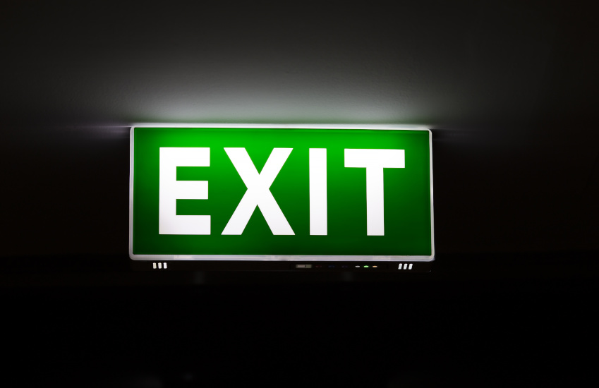 exit signage smsf