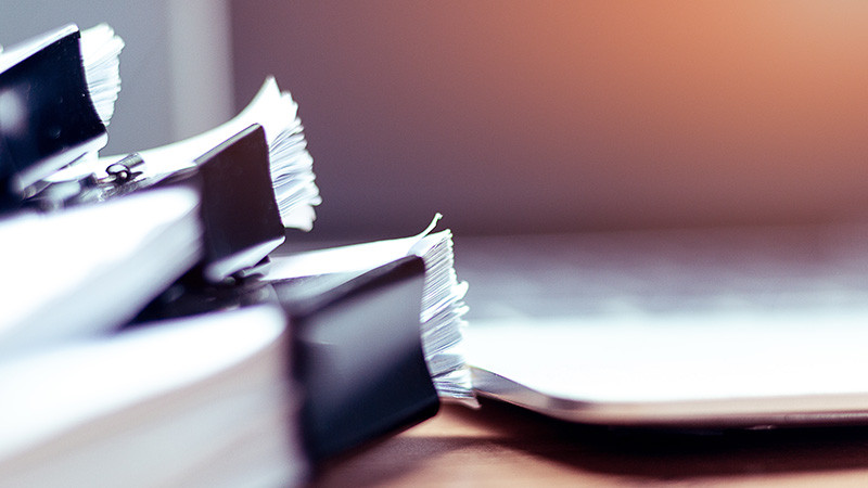 pile documents smsf
