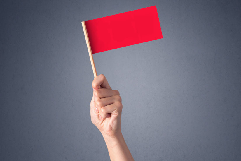 red flag wave smsf