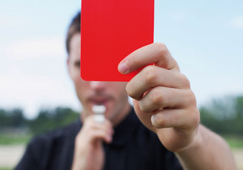 red card 190215